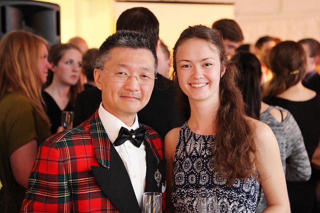 Ola Sundbeck-Arnäs & Louise Hultén IAESTE Göteborgs Alumnimiddag